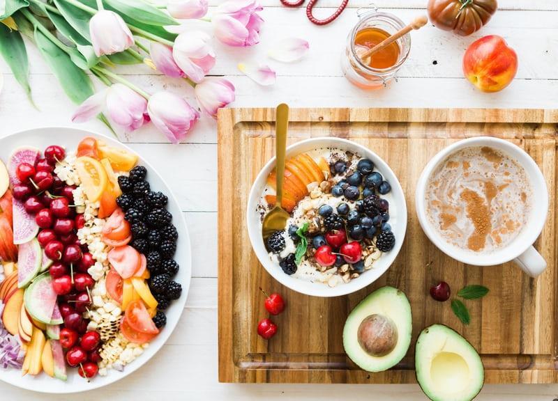 how to eat just a little bit better